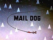 Mail Dog Free Cartoon Picture