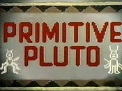 Primitive Pluto Free Cartoon Picture