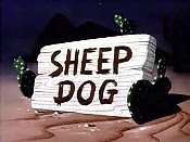 Sheep Dog Free Cartoon Picture