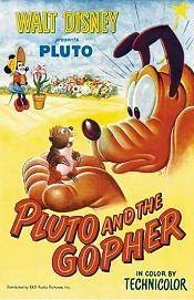 Pluto And The Gopher Free Cartoon Picture