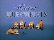 Pluto's Quin-puplets Cartoon Picture