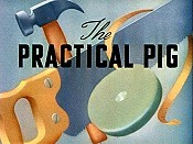 The Practical Pig Cartoon Character Picture