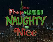 Prep & Landing: Naughty vs. Nice Cartoon Character Picture