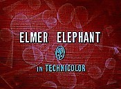 Elmer Elephant Cartoon Picture