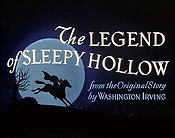 The Legend Of Sleepy Hollow Cartoon Picture