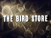 The Bird Store Cartoon Picture