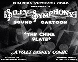 The China Plate Picture Into Cartoon
