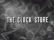 The Clock Store Cartoon Picture