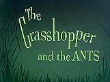 The Grasshopper And The Ants Cartoon Character Picture