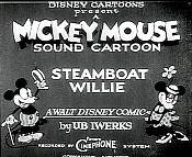 Steamboat Willie Cartoon Picture