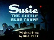 Susie The Little Blue Coupe Picture Of Cartoon
