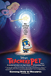 Teacher's Pet Cartoon Character Picture