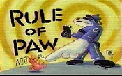 Rule Of Paw Cartoon Picture