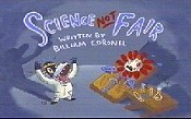 Science Not Fair Cartoon Picture