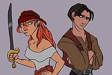 Treasure Planet 2 Picture Into Cartoon