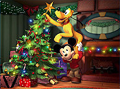 Mickey's Twice Upon A Christmas Picture Into Cartoon