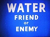 Water, Friend Or Enemy Cartoon Picture