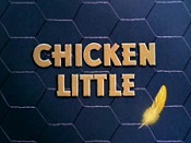 Chicken Little Picture To Cartoon