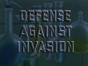 Defense Against Invasion Cartoon Picture