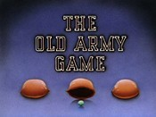 The Old Army Game Cartoon Picture