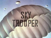 Sky Trooper Free Cartoon Picture