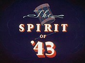 The Spirit Of '43 Pictures Cartoons
