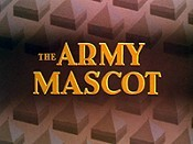 The Army Mascot Cartoon Character Picture
