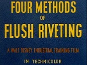 Four Methods Of Flush Riveting Cartoon Picture