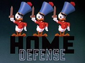 Home Defense Cartoon Picture
