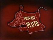 Private Pluto The Cartoon Pictures