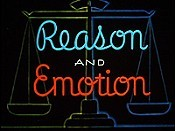 Reason And Emotion The Cartoon Pictures
