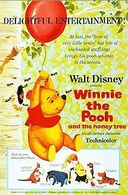 Winnie The Pooh And The Honey Tree Free Cartoon Picture