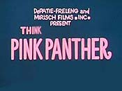 Think Pink Panther! Cartoon Picture