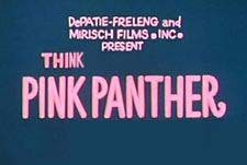 Think Pink Panther! Episode Guide Logo