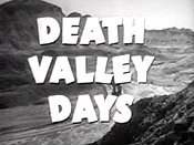 Death Valley Days (Opening Credits) Cartoon Picture