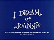 I Dream of Jeannie (Opening Credits) Cartoon Picture
