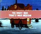 The Who's Who That's Who Mission Pictures To Cartoon