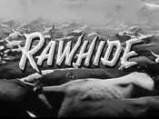 Rawhide (Opening Credits) Cartoon Picture