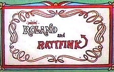 Roland and Rattfink Theatrical Cartoon Series Logo