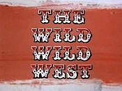 The Wild Wild West (Opening Credits) Cartoon Picture