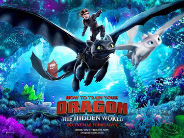 How to Train Your Dragon 3 Cartoon Picture