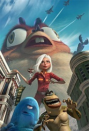 Monsters vs. Aliens Free Cartoon Picture