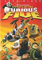 Secrets of the Furious Five Cartoon Character Picture
