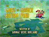 The Ghost Of Goober Bottom Pond Pictures Of Cartoons