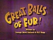 Great Balls Of Fur Cartoon Picture
