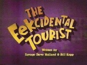 The Eekcidental Tourist Picture Of Cartoon