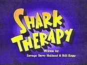 Shark Therapy Picture To Cartoon