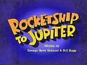 Rocketship To Jupiter Picture Of Cartoon
