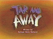 Tar And Away Cartoon Picture