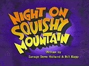 Night On Squishy Mountain Picture Of Cartoon